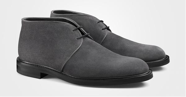 JOHN LOBB Grove双孔麂皮靴史诗般的优雅