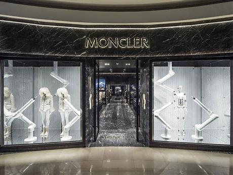MONCLER台北101隆重揭幕