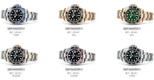 劳力士GMT- Master II家族大平台!