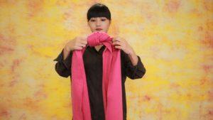 【秋冬围巾绑法】简单却能展现自然不做作的时尚感!40秒让你掌握时髦小技巧