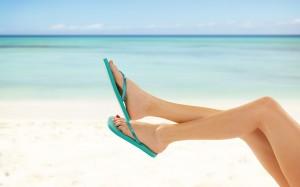 夏天就是要露出美腿!性感的美腿美容
