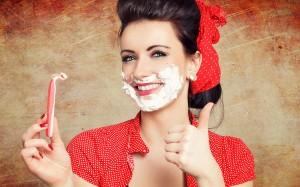 瞬间提升明亮气色,轻松简单的脸部除毛方法