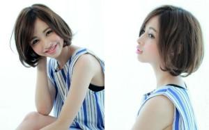 不管从哪个角度看轮廓都很美☆塞耳后也很可爱的日本最新鲍伯发型BEST5