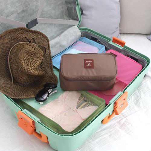 如何整理行李箱和拉杆箱?实用小物收纳包推荐