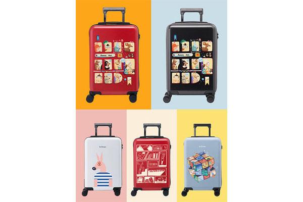不莱玫是什么品牌,五款小清新卡通不莱玫旅行箱