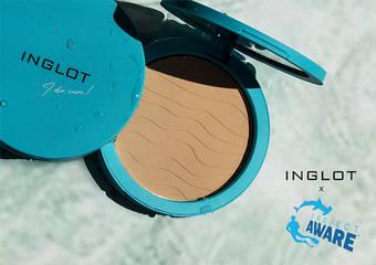 "INGLOT - 波兰世界级专业彩妆 INGLOT 积极赞助友善海洋计划 ""Project AWARE"""