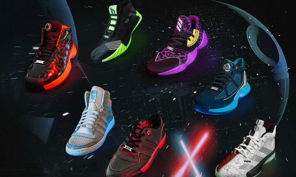 Adidas Basketball x《STAR WARS》 光剑 联名鞋款